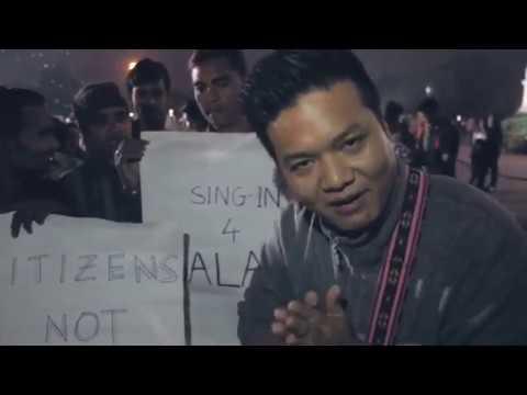 Sing-in protest in Assam demanding salary