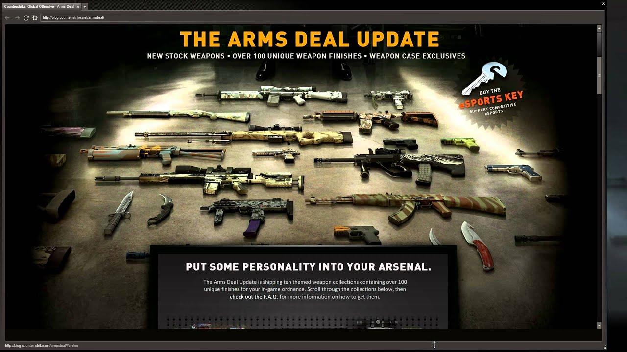cs go arms deal update