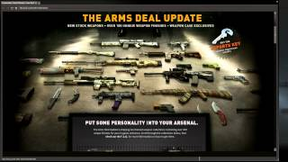 Massive CS:GO Update! The Arms Deal Update Is Live!