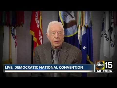 FULL VIDEO: Former President Jimmy Carter - Democratic National Convention