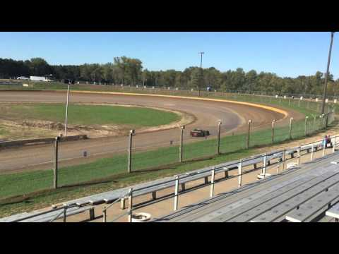 Kenny Wallace Dirt Racing Experiance @ Cedar Lake Speedway - First time in a late model - 10 laps