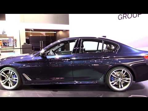 2017 BMW M550i xDrive 5 Series First Look in 4K