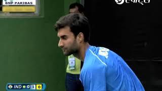 Davis Cup 2017 | Yuki Bhambri vs Jose Statham | #INDvNZL