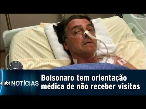 Após nova cirurgia, estado de saúde de Bolsonaro é estável | SBT Notícias (14/09/18)