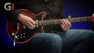 Jamie Humphries: Brian May Super Guitar - Guitar Interactive Magazine (with TAE pedal)