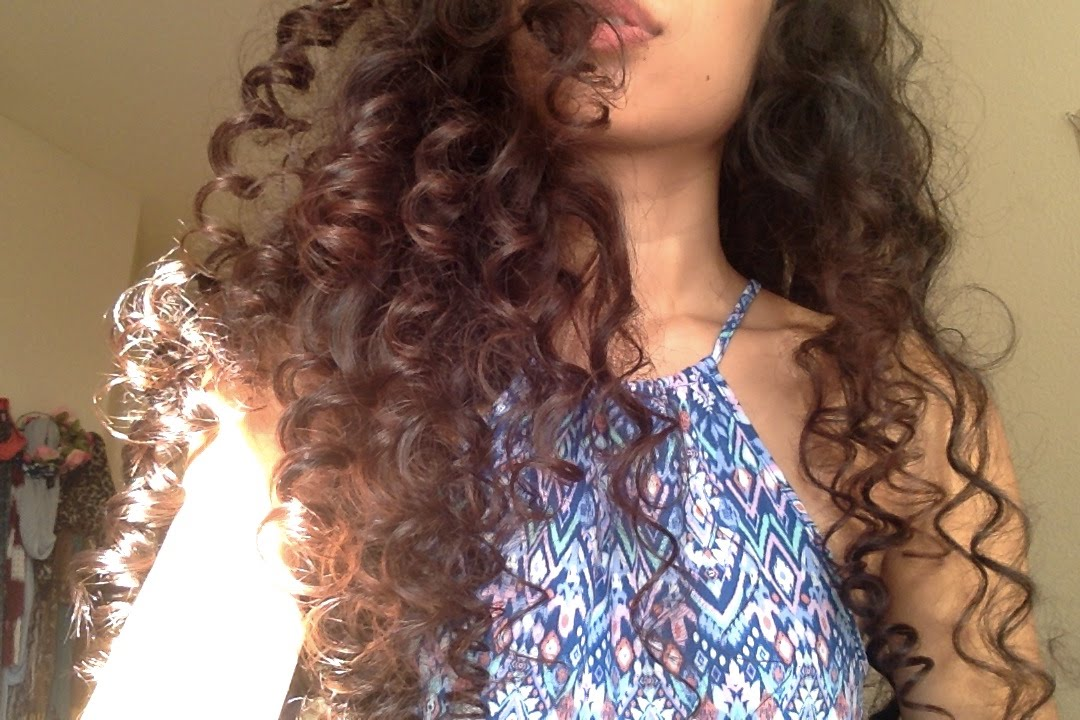 HEATLESS SPIRAL CURLS - YouTube