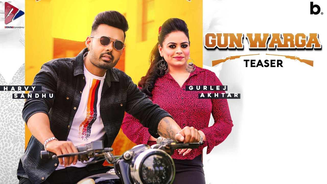 Gun Warga (Teaser) | Harvy Sandhu | Gurlej Akhtar | Desi Crew | Latest Punjabi Songs 2021