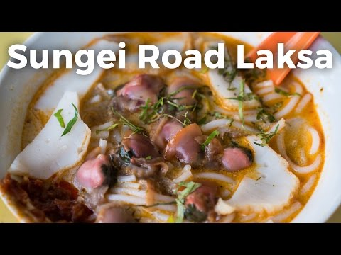 Legendary Sungei Road Laksa in Singapore