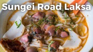 Legendary Sungei Road Laksa in Singapore