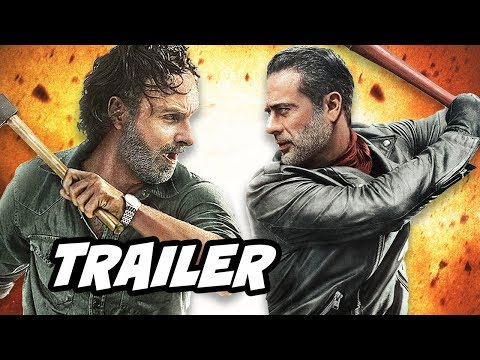 Walking Dead Season 8 Episode 8 Trailer - Mid Season Finale and Fear The Walking Dead Crossover