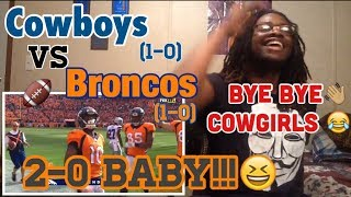 Cowboys vs Broncos NFL Week 2 Full Highlights - Reaction!!!