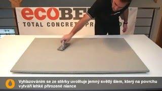MicroBond | DIY - Betonová stěrka svépomocí, imitace pohledového betonu