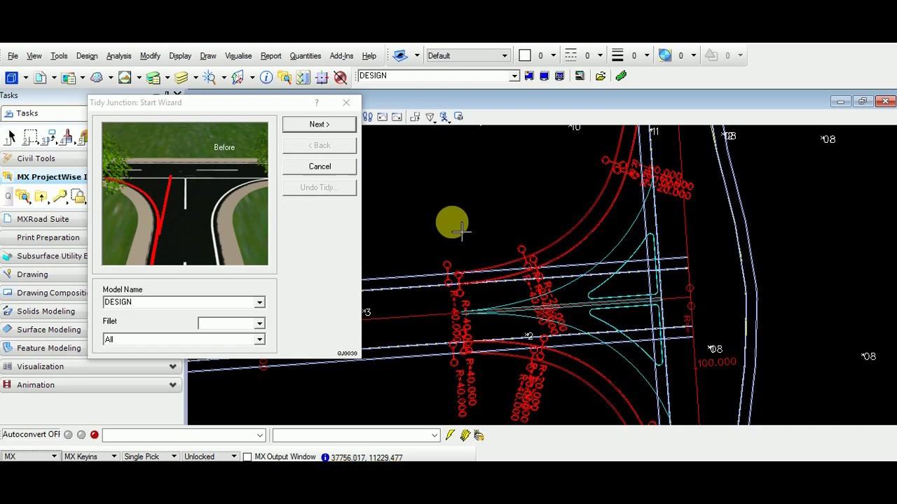 Mx Road Junction Design Youtube