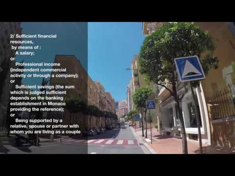 MPG 20    How to apply for a residence permit in Monaco