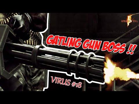 Resident Evil 5 | #18 | GATLING GUN BOSS PAKE BASOKA LANGSUNG DEAD!!