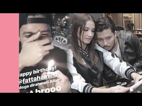 Fazura ke New York, Fattah Amin sambut hari lahir bawah pokok