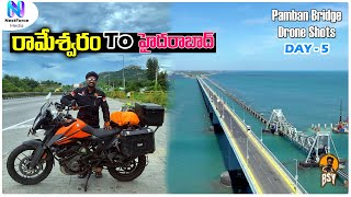 Rameshwaram To Hyderabad NonStop Ride | Day 5 | 1200+KMS | Telugu Motovlogs | Bayya Sunny Yadav