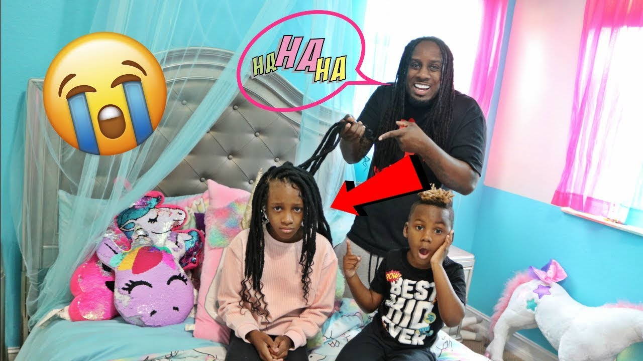 We Hate Yaya S New Hair Style Prank Youtube