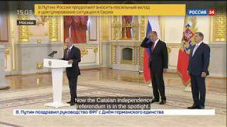 Putin on Catalan Referendum: Russia worried about Spain, hopes Catalan crisis will be resolved!