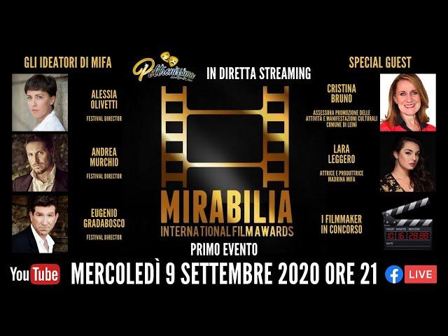 09.09.2020 - Mirabilia International Film Awards - Primo evento bimensile