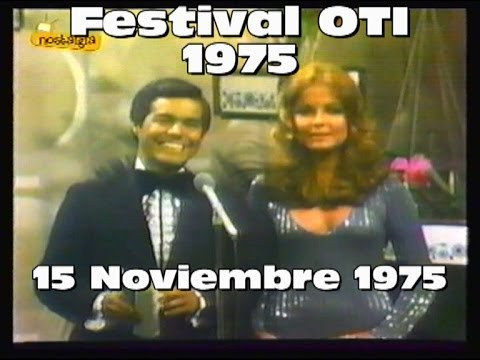 Festival de la OTI 1975 , 4º Edición - Programa Completo.Canal 2 de Telemundo