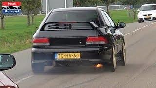 Fully built Subaru Impreza WRX with GTX3076R Turbo - Screaming Turbo Sounds!