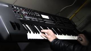 Jamming on Yamaha Mox6 - performed by S4K ( piano hammond synth pads )