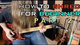 How To Shred F๐r Beginners Part 2 ( With TABS!!)