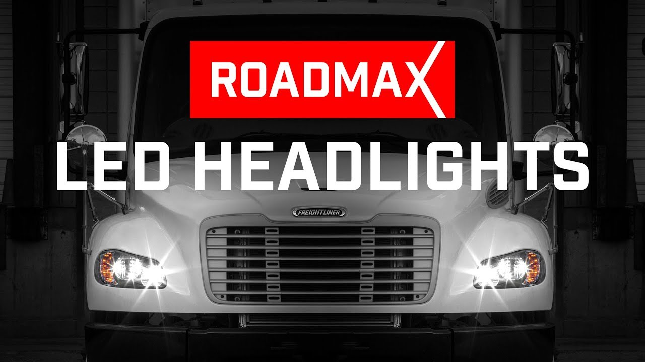 ROADMAX™ LED Headlights for the Freightliner M2 106 & 112 models