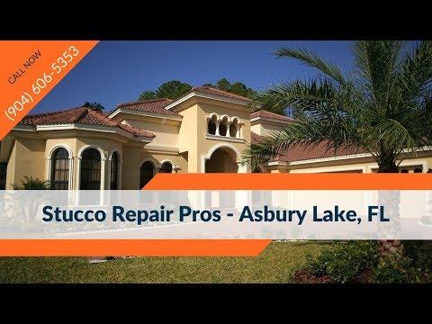 Stucco Crack Repair Asbury Lake FL Contractors Companies (904) 606-5353