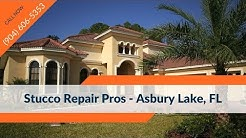 Stucco Crack Repair Asbury Lake FL Contractors Companies (904) 606-5353
