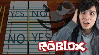 CHARLIE CHARLIE CHALLENGE IN ROBLOX! (Never play it)