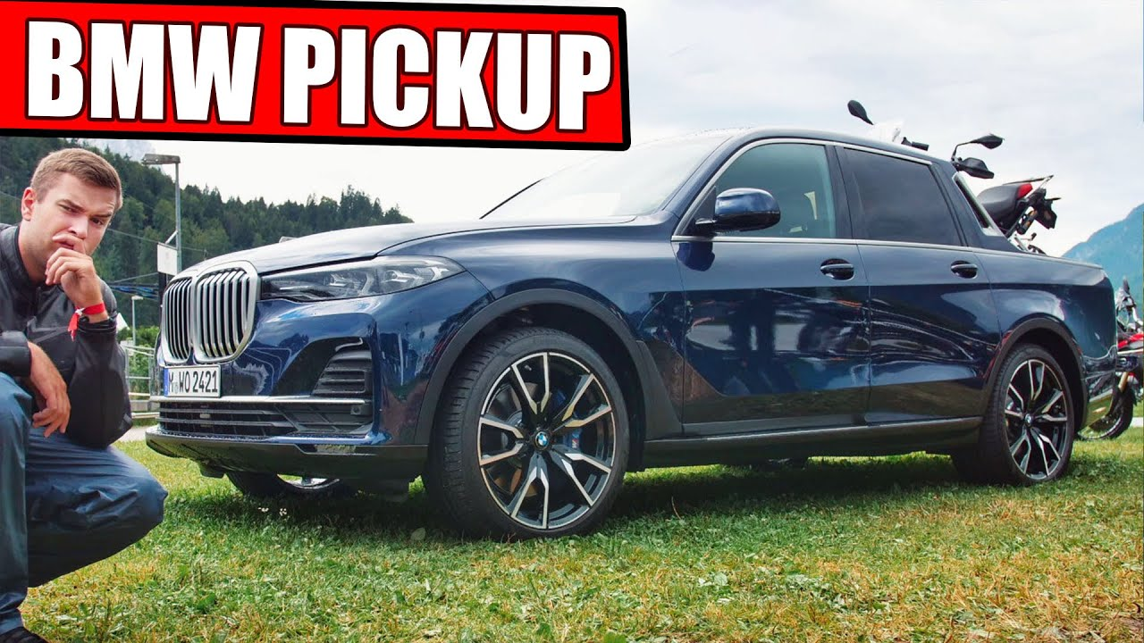 Bmw Pickup X7 340ps Weltpremiere Youtube