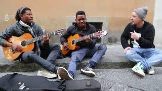 Busking in Florence Freestyle - Starzeal X Bastian Bucks