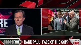 Santorum: No, Rand's not my leader