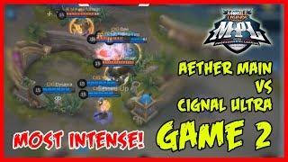 Wow! Longest Match Yet! Cignal Ultra vs Aether Main | MPL-PH Game2
