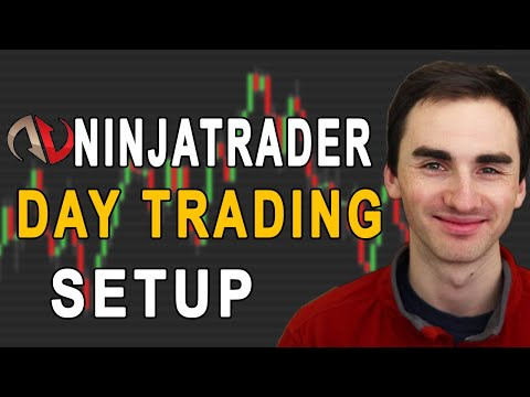 NinjaTrader Day Trading Chart Setup And Demo Account