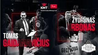 Citadele KMT Mažasis Finalas Trenerių Akimis | T. Gaidamavičius Ir Ž. Urbonas