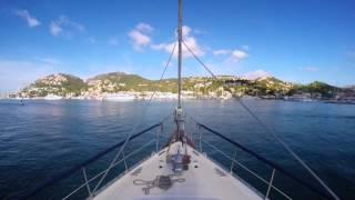 Sailing Karma around Majorca island