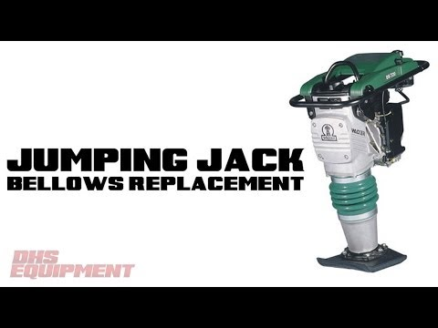 Wacker Jumping Jack Bellows Replacement - DHS Equipment