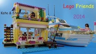 Lego Friends 2014 Set 41037 Stephanie's Beach House