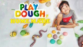 Cara Mudah Membuat Playdough / Play doh (Mainan Lilin) Home Made