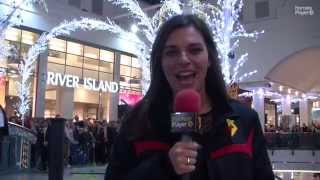 CHRISTMAS: Hornets at Lights Switch-On 2015