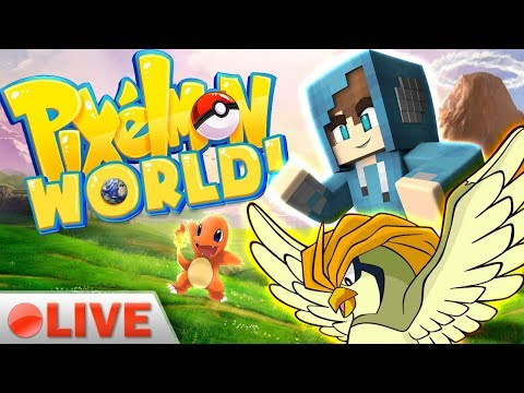WHO'S THE BEST TRAINER?! | Pixelmon World Live Stream