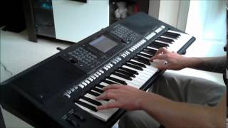 Jean Michel Jarre - Souvenir Of China (cover by Ziqqo yamaha psr s750)