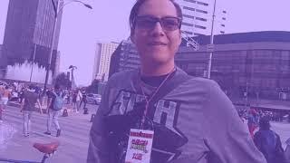 Vlogg  Marcha zombie CDMX  Con la chaparrita