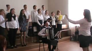 Государственный экзамен, заочное отделение. Дирижирует Анна Разакова
