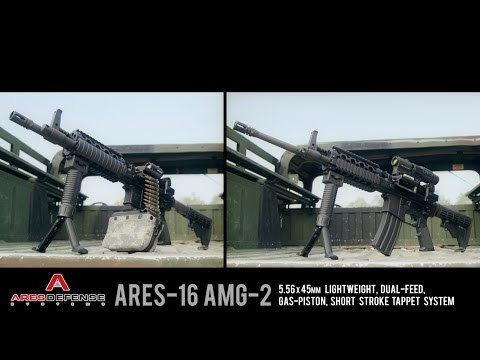 Belt Fed AR System: The ARES-16