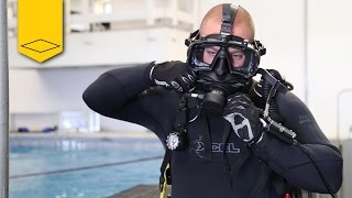 kirby morgan m 48 mod 1   long beach police dive team   training