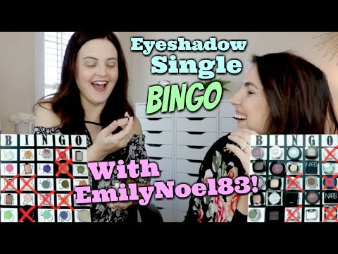 Eyeshadow Single BINGO! Travel Collab with EmilyNoel83!